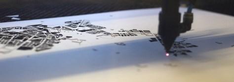 Detail Lasercutter