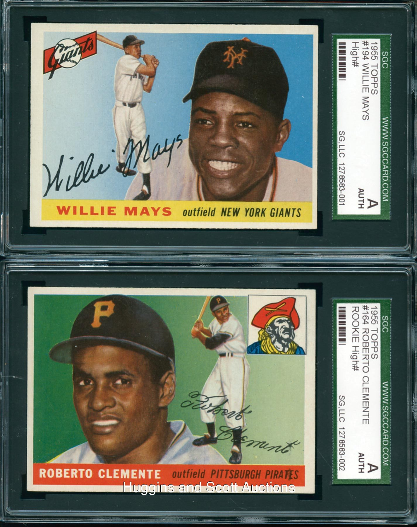 Topps Roberto Clemente Amp Willie Mays