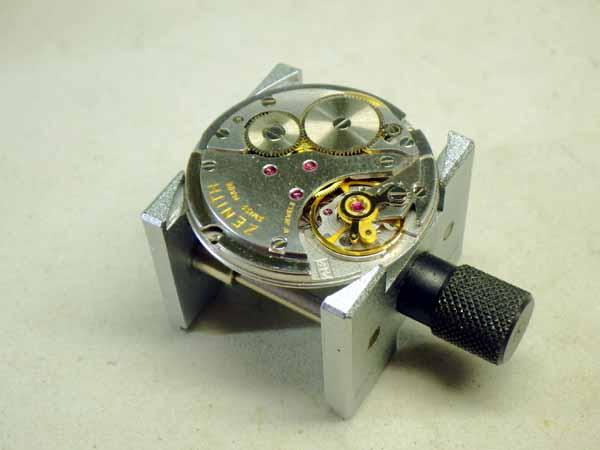 ゼニス 9K金無垢 センターセコンド 機械式手巻き Cal.2532 ベルト/尾錠付き