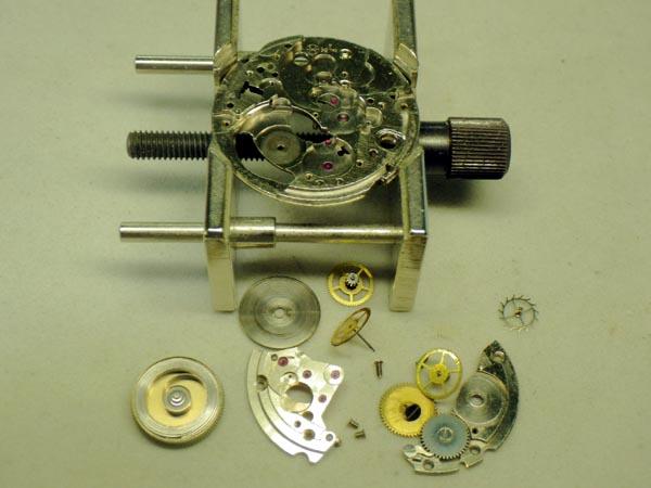 ハミルトン スーパーコンプレッサー オーバーホール 分解修理