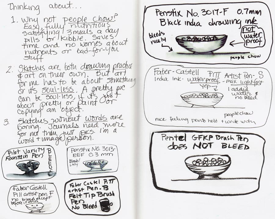People Chow & Pens