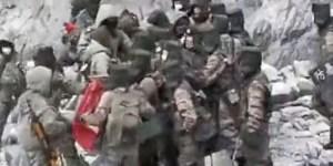भारत र चीनका सैनिकबीच भिडन्त (हेर्नुहोस भाइरल भिडियो)
