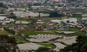 नागढुंगाबाट देखिएको काठमाडौं (फोटो फिचर)