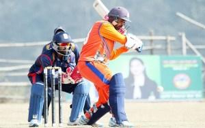 राष्ट्रिय एकदिवसीय क्रिकेट प्रतियोगिताको सेमिफाइनलमा प्रवेश