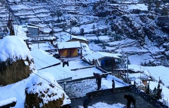 कर्णाली उच्च हिमाली जिल्लामा हिमपातले चिसो बढ्यो