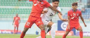 त्रिदेशीय कप फुटबलको उपाधिका लागि नेपाल र बंगलादेश भिड्दै
