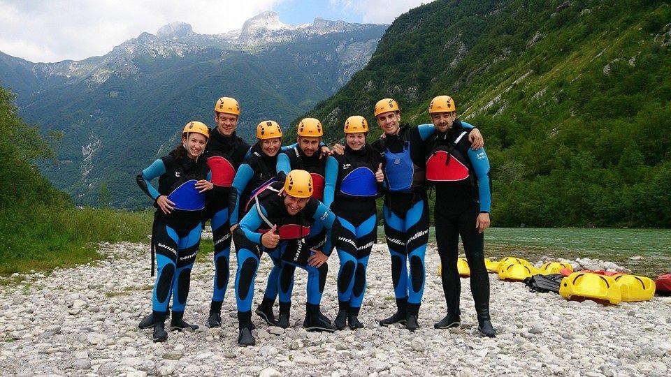 Canyoning ve slovinských horách