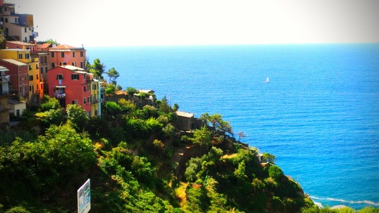 The beauty of the Cinque Terre