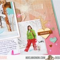 Noel Mignon: Snow Happy! & Stamp Giveaway!