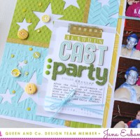 Queen & Co: Using the Foam Fronts Dies in Your Scrapbooking