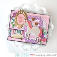 Echo Park: Princess Unicorn Card