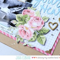 Scrapbook Page: Bless Your Heart