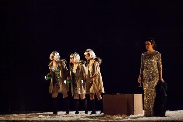 Jana as Zweite Dame in Mozart's Die Zauberflöte