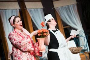Jana as Rosalinde in Johann Strauss' Die Fledermaus