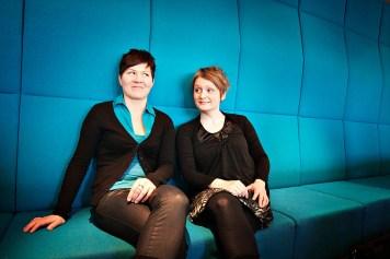 Duo Emilia Lajunen & Suvi Oskala. Kuva: Jani Kivelä