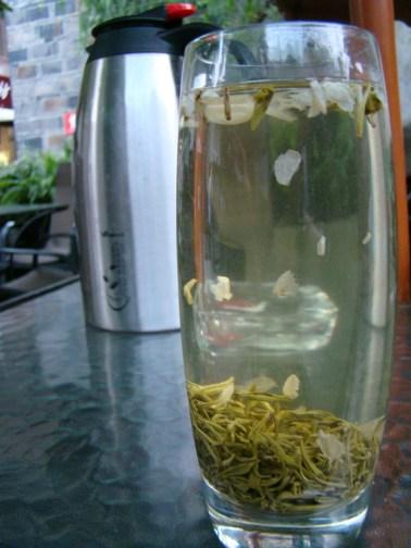 Our flower tea had arrived!!