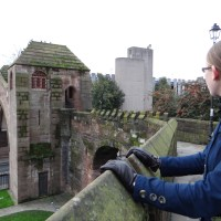 Walking the Old City Walls of Chester and searching for the Graves of Witches