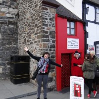 Quay House in Conwy, Wales is the Smallest House in Britain!