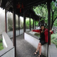 Walking Through Chinese Gardens and Parks during a Typhoon