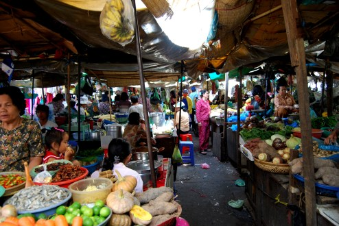 Food Market of Phnom Pehn
