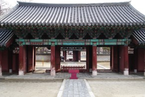 Temples in Jeonju, South Korea