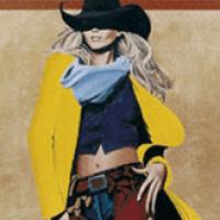 Cowgirl Art