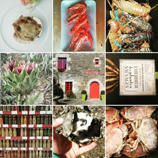 Essen und Trinken in der Bretagne, Fisch, Krebse, Muscheln