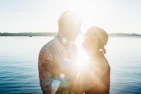 Romantisches Paar-Fotoshooting