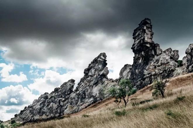 Drehort Teufelsmauer im Harz