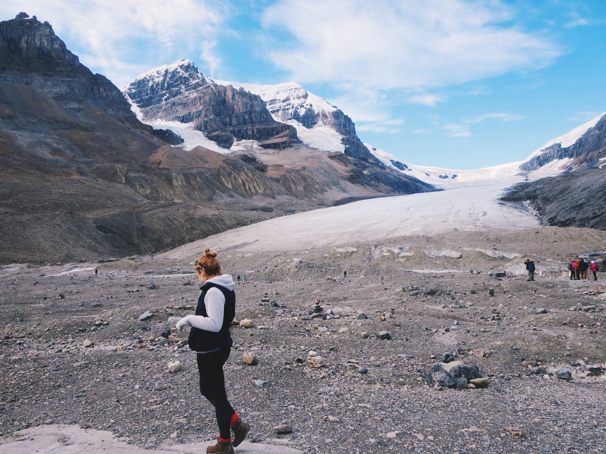 jana meerman athabasca glacier