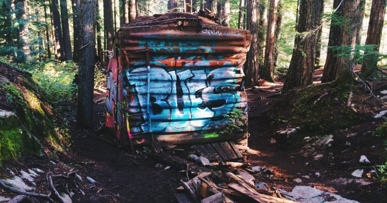 Whistler Train Wreck Hike