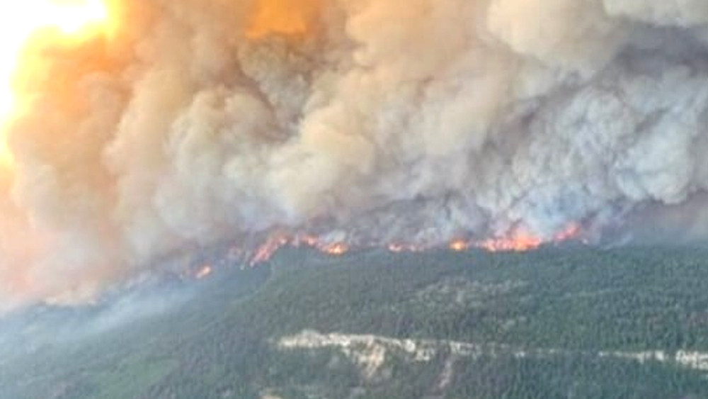 The death toll has crossed 700, wildfires are spreading, houses and roads are melting