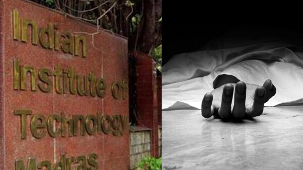 The body of a Malayalee found burnt at IIT Madras;  An 11-page suicide note was also found