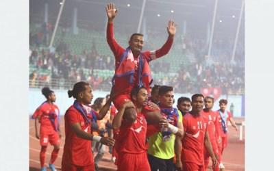 त्रिदेशीय कप फुटबलका विजेतलाई जनही चार लाख पुरस्कार