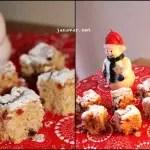 Plätzchen-Dezember: Cranberry-Makronen & Stollenwürfel