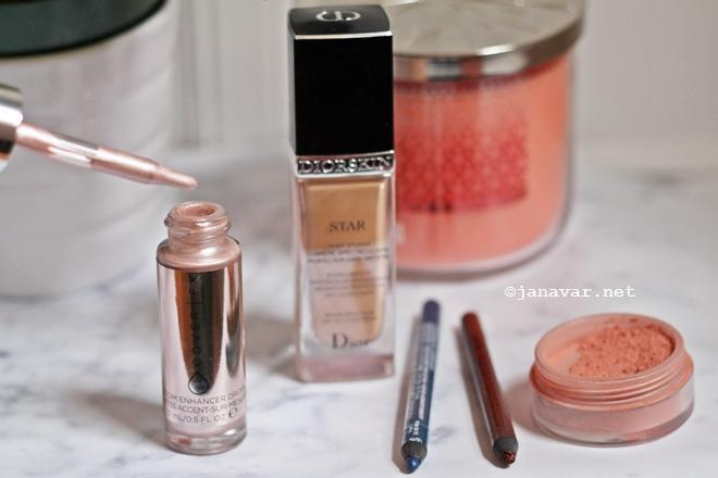 Beauty: Shimmery Makeup for Spring   janavar.net