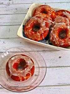 Recipe: Baked Peach Donuts