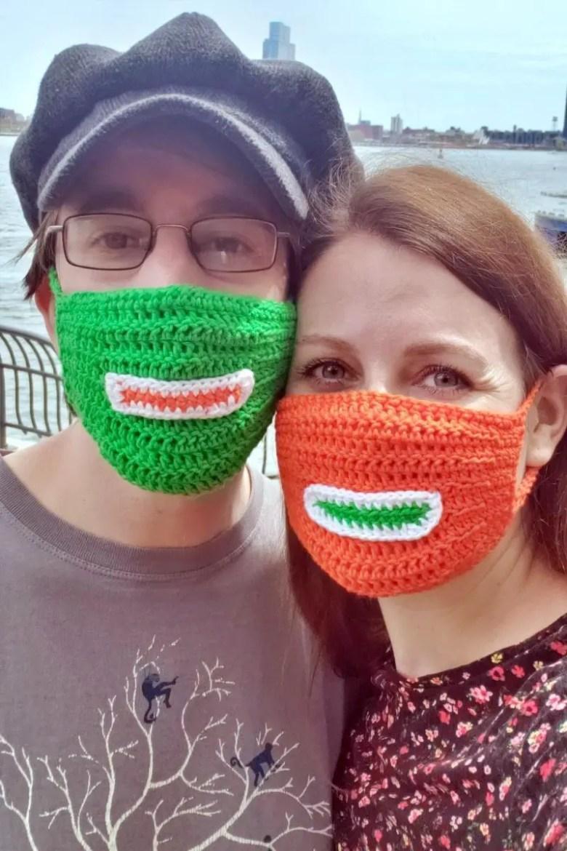 Easy DIY: Crochet Face Mask | janavar.net