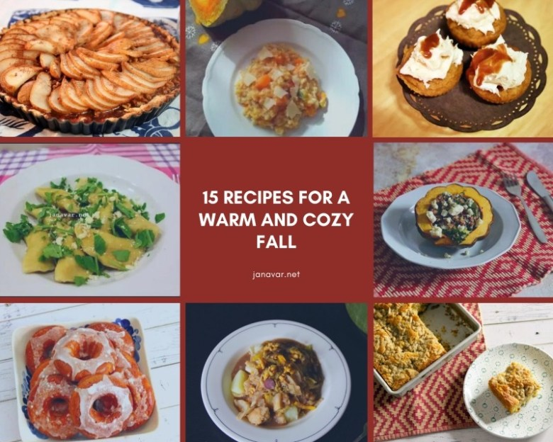 15 Recipes for a Warm and Cozy Fall
