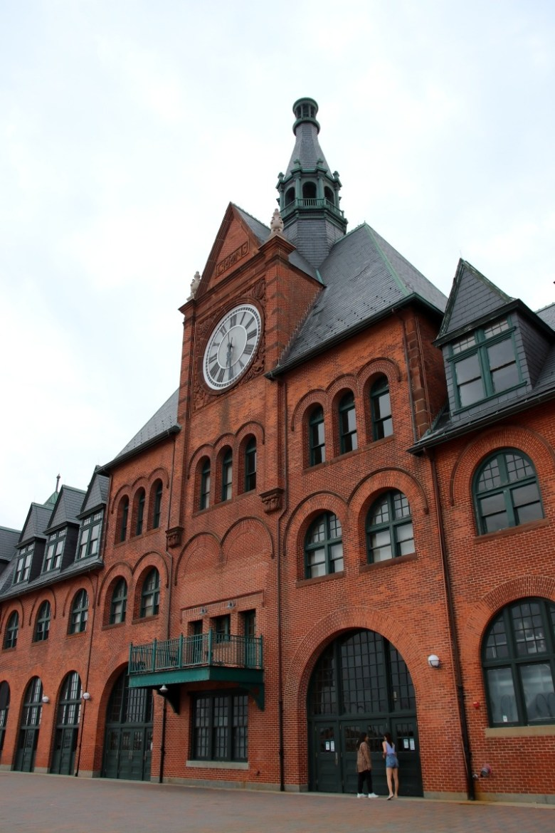 Old Central Railroad of New Jersey Terminal in Liberty State Park - Quick Trip to Jersey City | janavar