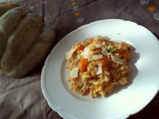 Recipe for Pumpkin Chestnut Risotto / janavar