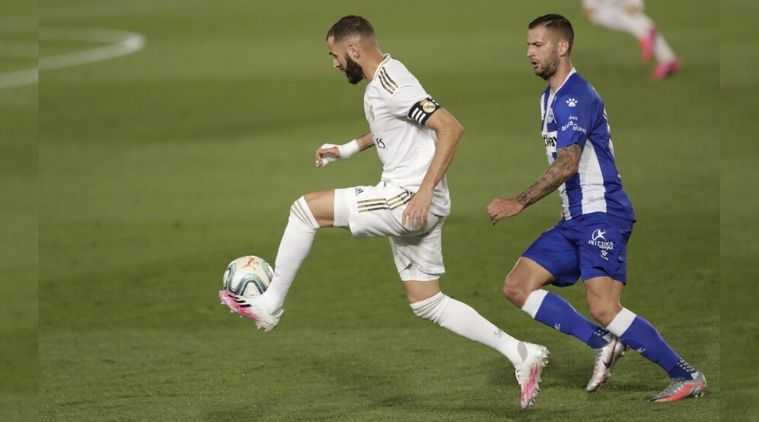 Real Madrid beat Deportivo Alaves 2–0 register 8th consecutive win