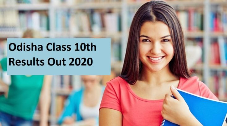Odisha class 10th result out 2020