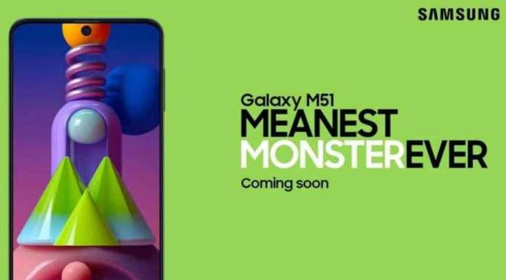 Samsung Galaxy M51 #MeanestMonsterEver janawaznews  Image credits: Samsung India and Indian Express
