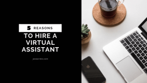 5 reasons to hire a virtual assistant