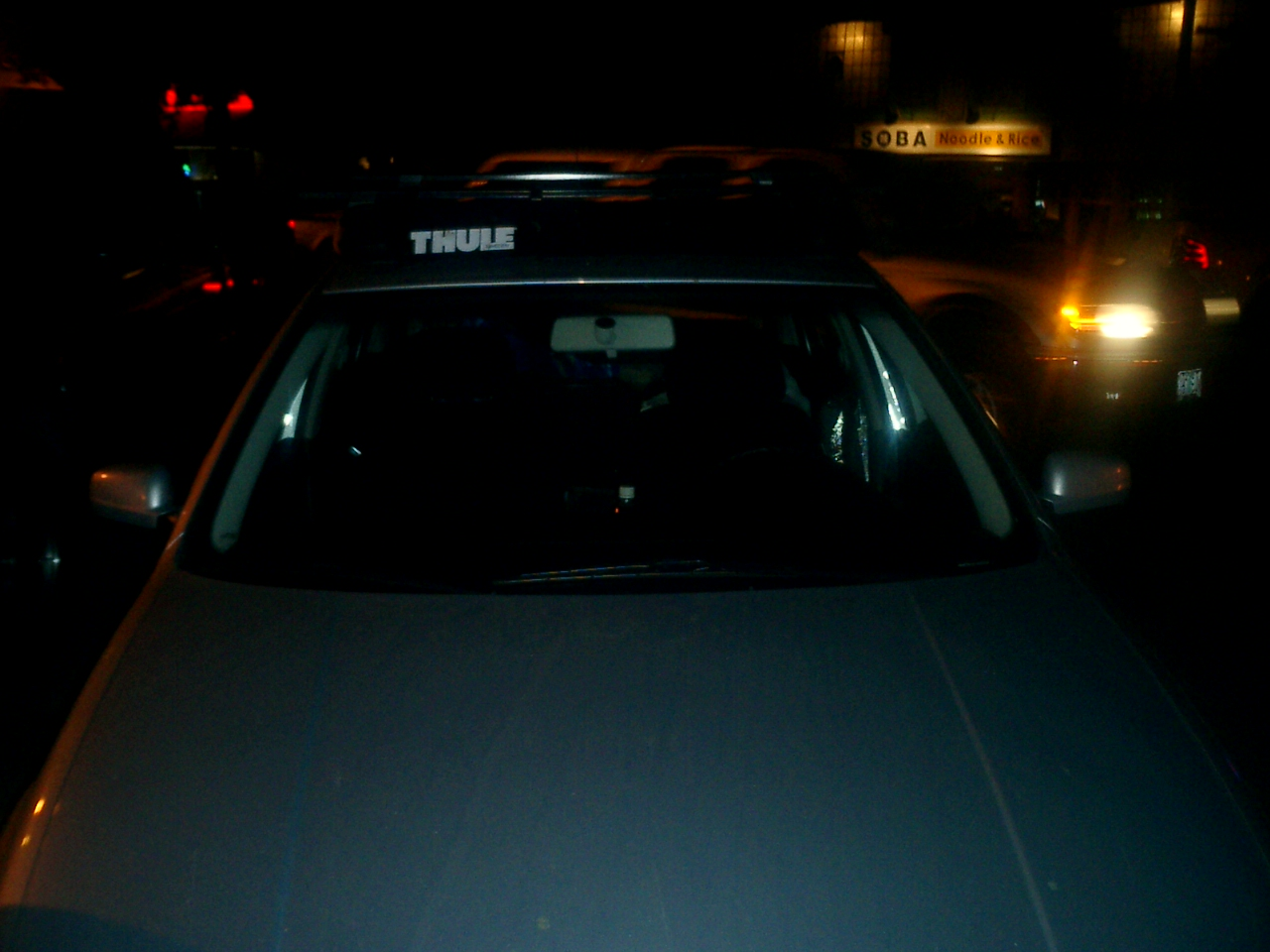 My car. The Native People had no idea know I was not one of them. Unless they looked at my license plate, of course.