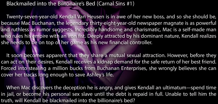 Slide Show For Blackmailed Into The Billionaires Bed Jan