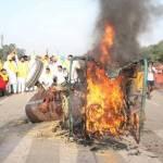 कृषि कानून विरोध: इंडिया गेट पर ट्रैक्टर जला, पंजाब में सीएम अमरिंदर अनशन पर और कर्नाटक रहा बंद