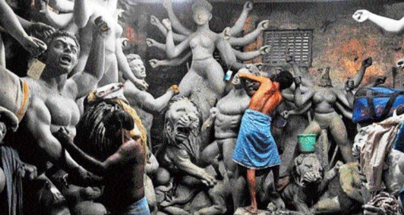 पश्चिम बंगाल: सरकार व्यस्त है गोबर जमा करने में, कला के चितेरे भूखों मर रहे
