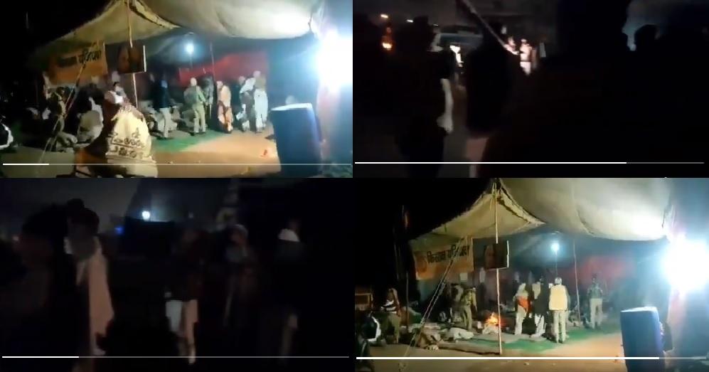 यूपी में आंदोलनकारियों के खिलाफ कार्रवाई शुरू, बागपत में धरने पर बैठे किसानों पर लाठीचार्ज, कई गिरफ्तार